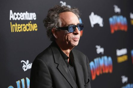 """LOS ANGELES, CA - MARCH 11: Director/executive producer Tim Burton attends the World Premiere of Disney's """"Dumbo"""" at the El Capitan Theatre on March 11, 2019 in Los Angeles, California. (Photo by Jesse Grant/Getty Images for Disney) *** Local Caption *** tim burton"""