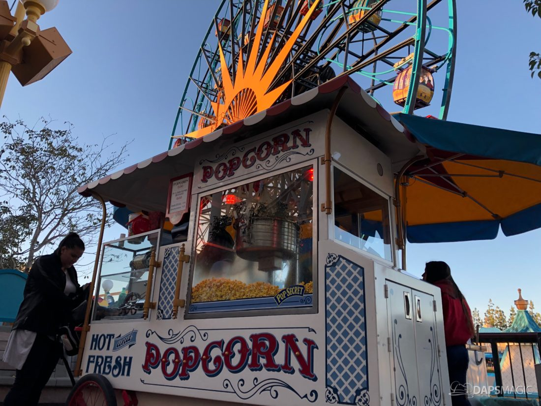 The Many Popcorn Carts of the Disneyland Resort - A Look at Storytelling Through a Classic Theme Park Snack