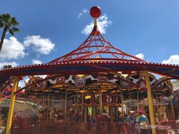 Jessie's Critter Carousel - Disney California Adventure
