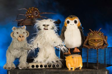 The Creature Stall in Star Wars: GalaxyÕs Edge will offer creatures of the galaxy, including porgs, tauntauns and more. Star Wars: GalaxyÕs Edge opens May 31, 2019, at Disneyland Resort in California and Aug. 29, 2019, at Walt Disney World Resort in Florida. (David Roark/Disney Parks)