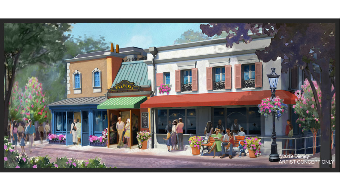 New Authentic Crêperie Coming to Epcot's France Pavilion Expansion at Walt Disney World Resort
