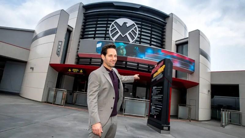 Paul Rudd - Ant-Man and The Wasp: Nano Battle! - Hong Kong Disneyland