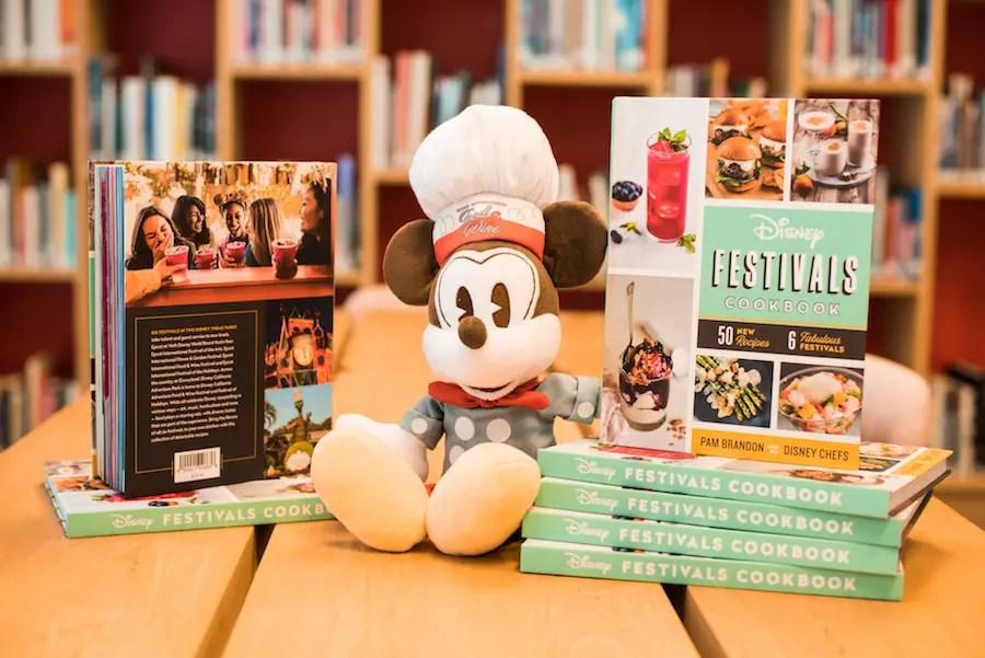 Disney Festivals Cookbook