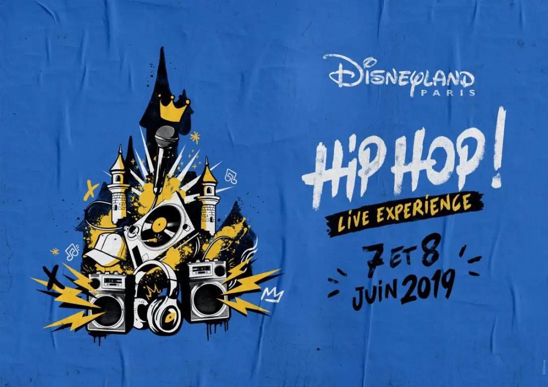 Disneyland Paris Announces a New Line-up for its Hip Hop Live