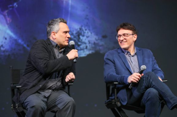 Global Tour Shanghai, China Press Conference Directors Joe Russo and Anthony Russo