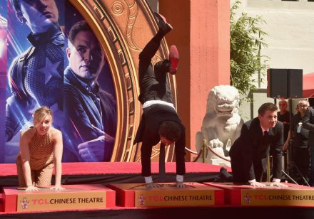 AVENGERS- ENDGAME Handprints at Chinese Theatre-13