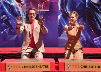 AVENGERS- ENDGAME Handprints at Chinese Theatre-22
