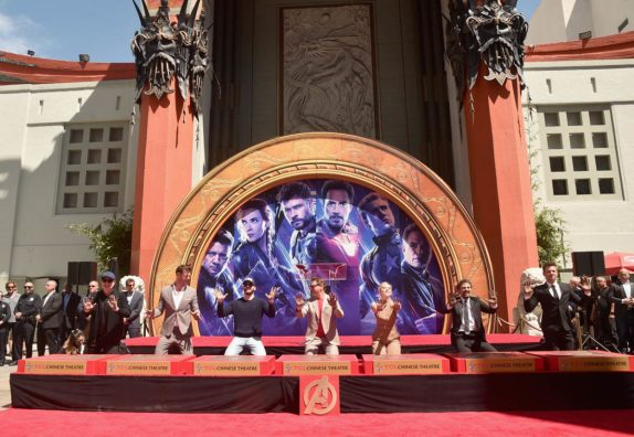 AVENGERS- ENDGAME Handprints at Chinese Theatre-25