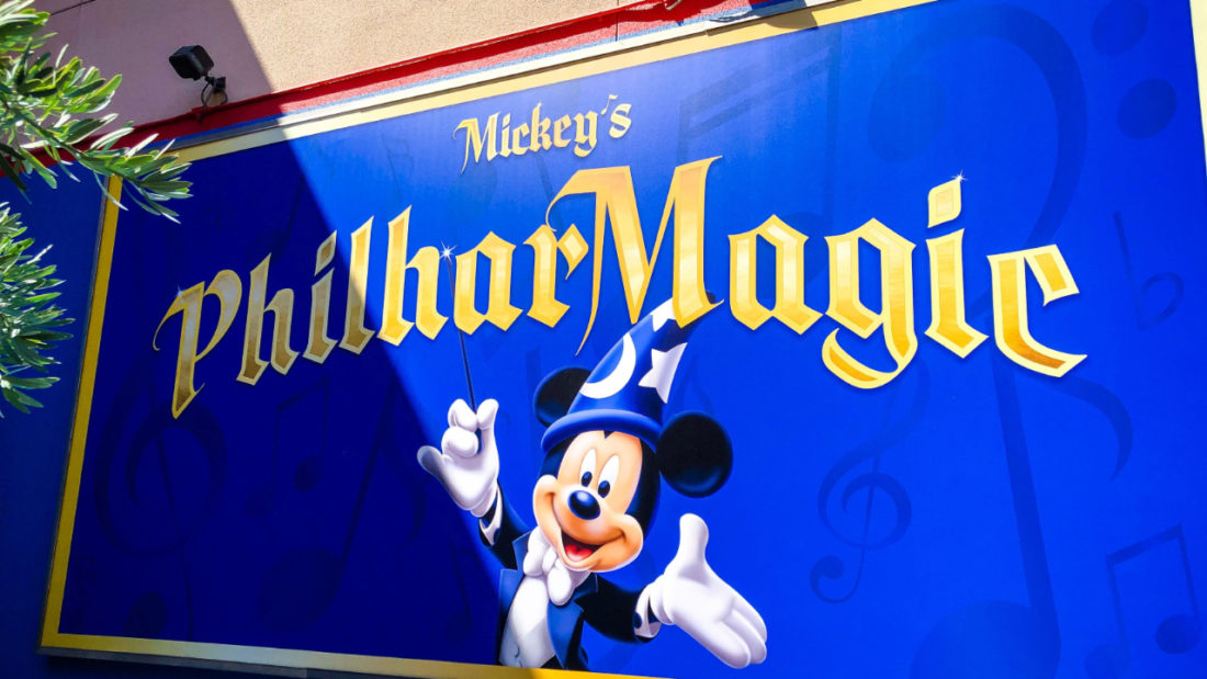 More Signs Appear as Mickey's PhilharMagic Opening Appears Near at Disneyland Resort