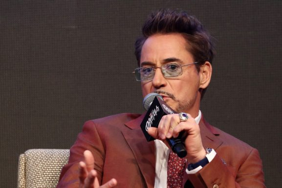 SEOUL, SOUTH KOREA - APRIL 15: Rober Downey Jr. attends the press conference for Marvel Studios' 'Avengers: Endgame' South Korea premiere on April 15, 2019 in Seoul, South Korea. (Photo by Chung Sung-Jun/Getty Images for Disney)