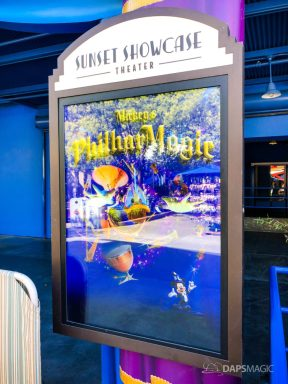 Mickey's Philharmagic Signs at Disney California Adventure-1