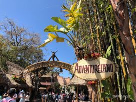 New Adventureland Sign at Disneyland-6