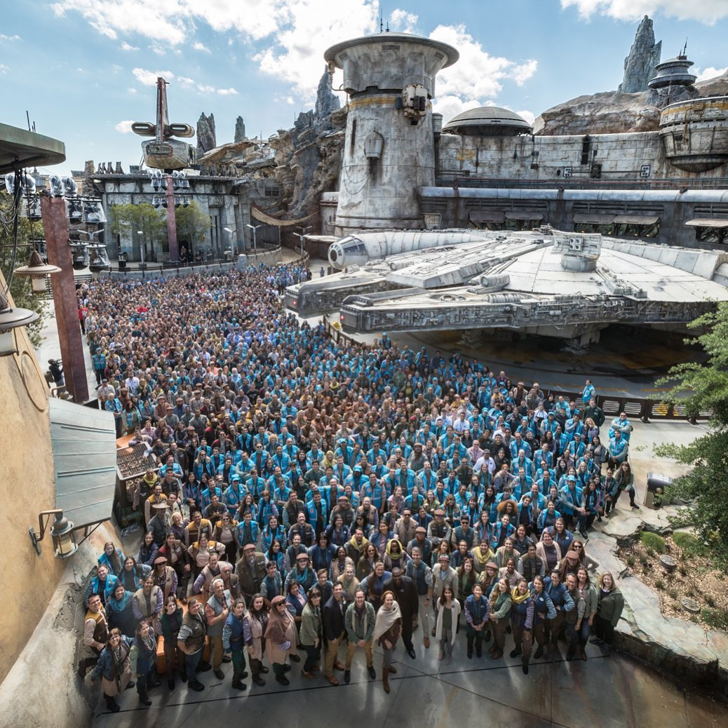 Star Wars: Galaxy's Edge Cast Members