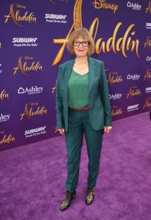 "LOS ANGELES, CA - MAY 21: Production designer Gemma Jackson attends the World Premiere of Disney's ""Aladdin"" at the El Capitan Theater in Hollywood CA on May 21, 2019, in the culmination of the film's Magic Carpet World Tour with stops in Paris, London, Berlin, Tokyo, Mexico City and Amman, Jordan. (Photo by Jesse Grant/Getty Images for Disney) *** Local Caption *** Gemma Jackson"