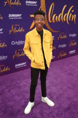 "LOS ANGELES, CA - MAY 21: Israel Johnson attends the World Premiere of Disney's ""Aladdin"" at the El Capitan Theater in Hollywood CA on May 21, 2019, in the culmination of the film's Magic Carpet World Tour with stops in Paris, London, Berlin, Tokyo, Mexico City and Amman, Jordan. (Photo by Jesse Grant/Getty Images for Disney) *** Local Caption *** Israel Johnson"