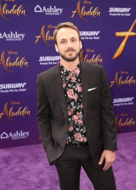 "LOS ANGELES, CA - MAY 21: Adam McArthur attends the World Premiere of Disney's ""Aladdin"" at the El Capitan Theater in Hollywood CA on May 21, 2019, in the culmination of the film's Magic Carpet World Tour with stops in Paris, London, Berlin, Tokyo, Mexico City and Amman, Jordan. (Photo by Jesse Grant/Getty Images for Disney) *** Local Caption *** Adam McArthur"