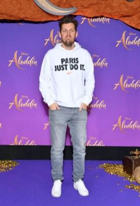 Paris France May 08 Norbert Tarayre Attends The Aladdin Gala Screening