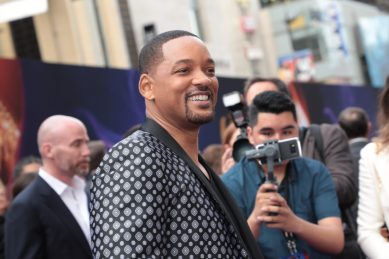 Will Smith attends the World Premiere of DisneyÕs Aladdin at the El Capitan Theater in Hollywood, CA on Tuesday, May 21, 2019, in the culmination of the filmÕs Magic Carpet World Tour with stops in Paris, London, Berlin, Tokyo, Mexico City and Amman, Jordan. (photo: Alex J. Berliner/ABImages)