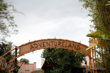 New Adventureland Sign at Disneyland