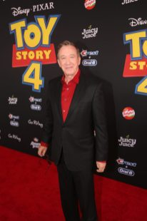 HOLLYWOOD, CA - JUNE 11: Tim Allen attends the world premiere of Disney and Pixar's TOY STORY 4 at the El Capitan Theatre in Hollywood, CA on Tuesday, June 11, 2019. (Photo by Jesse Grant/Getty Images for Disney) *** Local Caption *** Tim Allen