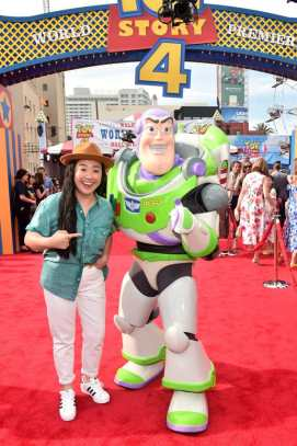 HOLLYWOOD, CA - JUNE 11: Sherry Cola attends the world premiere of Disney and Pixar's TOY STORY 4 at the El Capitan Theatre in Hollywood, CA on Tuesday, June 11, 2019. (Photo by Alberto E. Rodriguez/Getty Images for Disney) *** Local Caption *** Sherry Cola