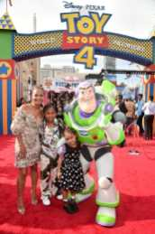 HOLLYWOOD, CA - JUNE 11: Christina Milian (L) and family attend the world premiere of Disney and Pixar's TOY STORY 4 at the El Capitan Theatre in Hollywood, CA on Tuesday, June 11, 2019. (Photo by Alberto E. Rodriguez/Getty Images for Disney) *** Local Caption *** Christina Milian
