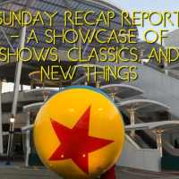 Sunday Recap Report - A Showcase of Shows, Classics, and New Things