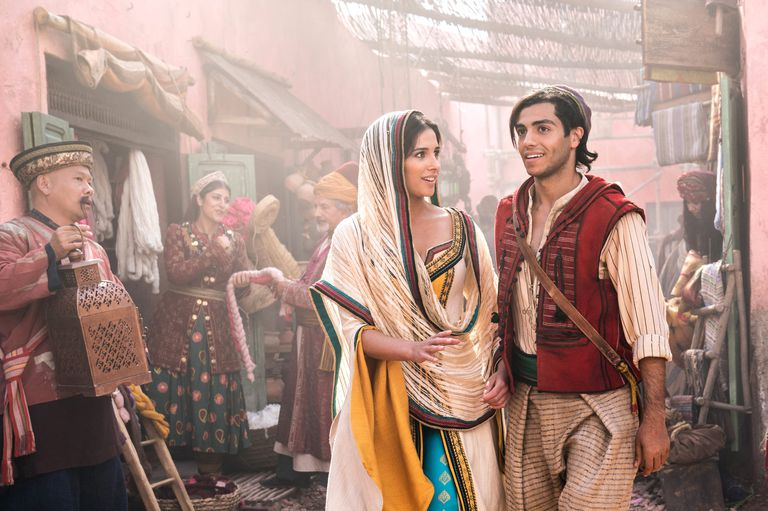 Aladdin - Naomi Scott & Mena Massoud