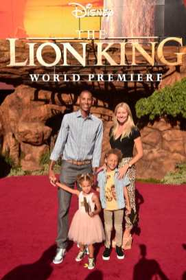 """HOLLYWOOD, CALIFORNIA - JULY 09: Reggie Miller attends the World Premiere of Disney's """"THE LION KING"""" at the Dolby Theatre on July 09, 2019 in Hollywood, California. (Photo by Alberto E. Rodriguez/Getty Images for Disney)"""