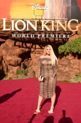 """HOLLYWOOD, CALIFORNIA - JULY 09: Meghan Trainor attends the World Premiere of Disney's """"THE LION KING"""" at the Dolby Theatre on July 09, 2019 in Hollywood, California. (Photo by Alberto E. Rodriguez/Getty Images for Disney)"""