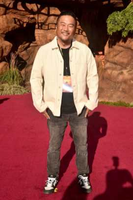 """HOLLYWOOD, CALIFORNIA - JULY 09: Roy Choi attends the World Premiere of Disney's """"THE LION KING"""" at the Dolby Theatre on July 09, 2019 in Hollywood, California. (Photo by Alberto E. Rodriguez/Getty Images for Disney)"""