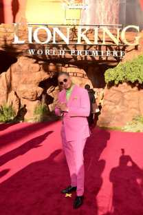 """HOLLYWOOD, CALIFORNIA - JULY 09: Eric Andre attends the World Premiere of Disney's """"THE LION KING"""" at the Dolby Theatre on July 09, 2019 in Hollywood, California. (Photo by Alberto E. Rodriguez/Getty Images for Disney)"""