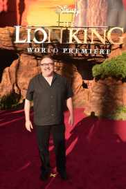 """HOLLYWOOD, CALIFORNIA - JULY 09: Don Hahn attends the World Premiere of Disney's """"THE LION KING"""" at the Dolby Theatre on July 09, 2019 in Hollywood, California. (Photo by Alberto E. Rodriguez/Getty Images for Disney)"""