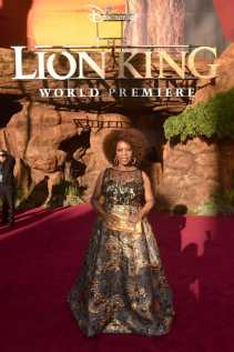 """HOLLYWOOD, CALIFORNIA - JULY 09: Alfre Woodard attends the World Premiere of Disney's """"THE LION KING"""" at the Dolby Theatre on July 09, 2019 in Hollywood, California. (Photo by Alberto E. Rodriguez/Getty Images for Disney)"""