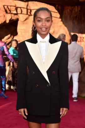 """HOLLYWOOD, CALIFORNIA - JULY 09: Yara Shahidi attends the World Premiere of Disney's """"THE LION KING"""" at the Dolby Theatre on July 09, 2019 in Hollywood, California. (Photo by Alberto E. Rodriguez/Getty Images for Disney)"""