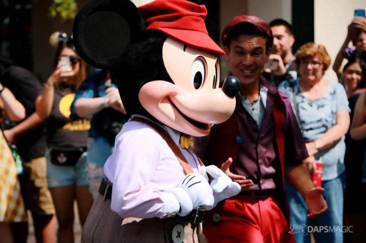 Final Performance Red Car Trolley News Boys at Disney California Adventure-23