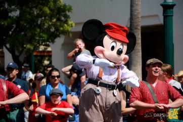 Final Performance Red Car Trolley News Boys at Disney California Adventure-7