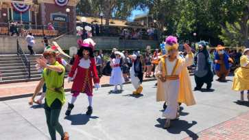 First Performance- Mickey and Friends Band-Tastic Cavalcade at Disneyland-29