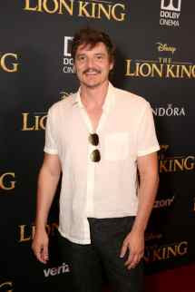 """HOLLYWOOD, CALIFORNIA - JULY 09: Pedro Pascal attends the World Premiere of Disney's """"THE LION KING"""" at the Dolby Theatre on July 09, 2019 in Hollywood, California. (Photo by Jesse Grant/Getty Images for Disney)"""