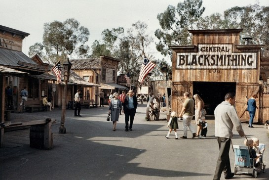 Ghost Town Main Street 1967-OC Archives