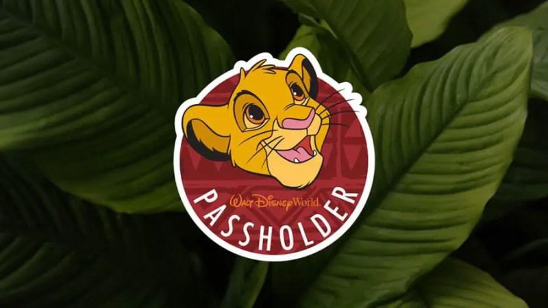 Simba Walt Disney World Annual Passholder Exclusive Magnet
