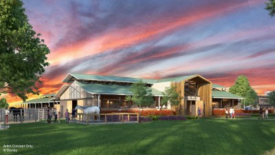 Disney's Fort Wilderness Resort & Campground Barn Rendering