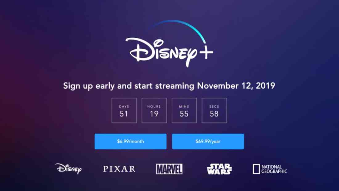 Disney+ Available for Preorder