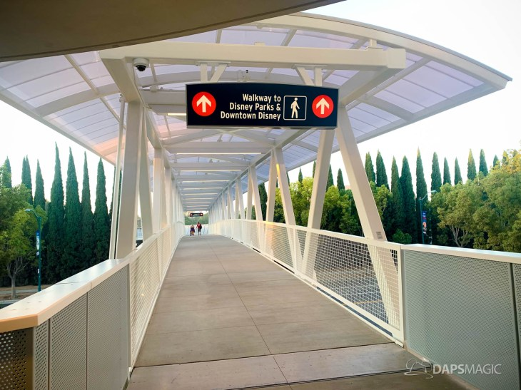 Disneyland Resort Parking Lot Pedestrian Bridge and Plaza-1