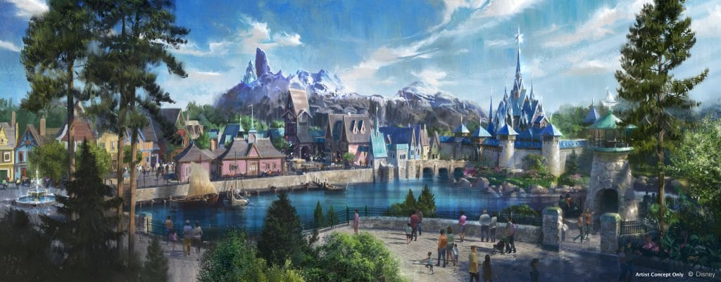 Frozen Themed Area - Walt Disney Studios Park - Disneyland Paris