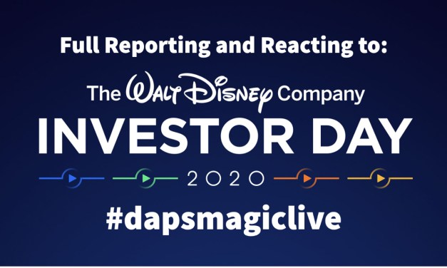 Full Reporting and Reacting to Disney Investor Day 2020 – DAPS MAGIC Live!