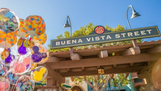 A Touch of Disney, a new, limited-time ticketed experience brings back some of the sights, sounds and flavors of the Disneyland Resort to Disney California Adventure Park beginning March 18, 2021. A Touch of Disney offers some of the world-famous food and drinks from around the Disneyland Resort, like churros, DOLE Whips¨, the mouth-watering Monte Cristo sandwich and more, plus a chance to see Disney characters, shop for the latest Disney merchandise and pop in at unique photo locations. The experience is underscored by a specially curated soundtrack of reimagined Disney songs broadcast throughout the park. (Christian Thompson/Disneyland Resort)
