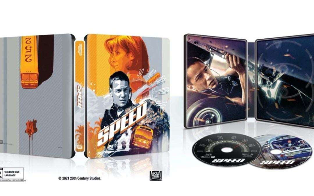 Experience the Thrills of 'Speed' for the First Time in 4K Ultra HD