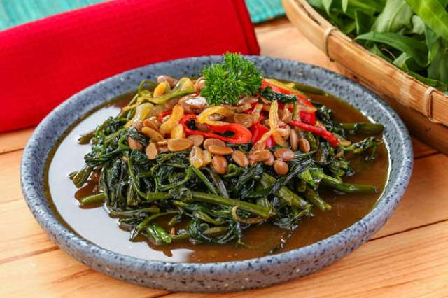 Image result for kangkung tauco
