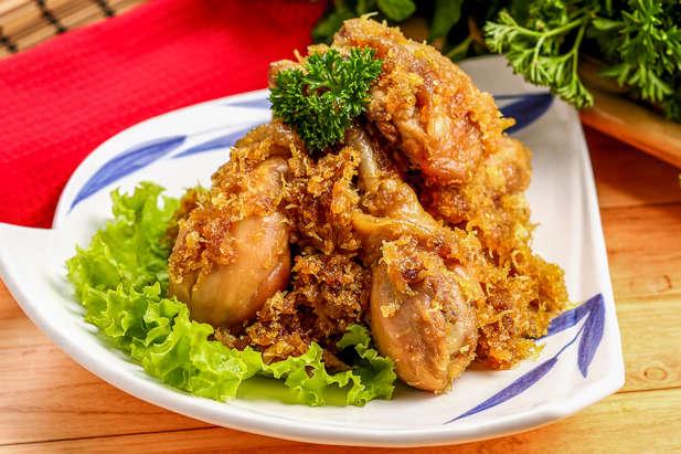 Ayam Serundeng Pedas Manis